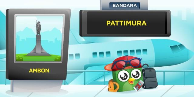 Bandara Pattimura Ambon (AMQ)