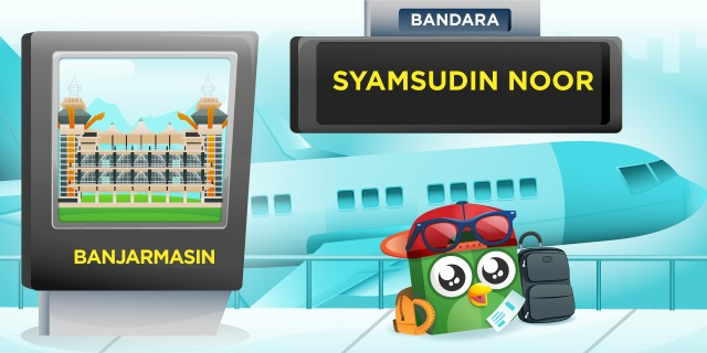 Bandara Syamsuddin Noor Banjarmasin (BDJ)