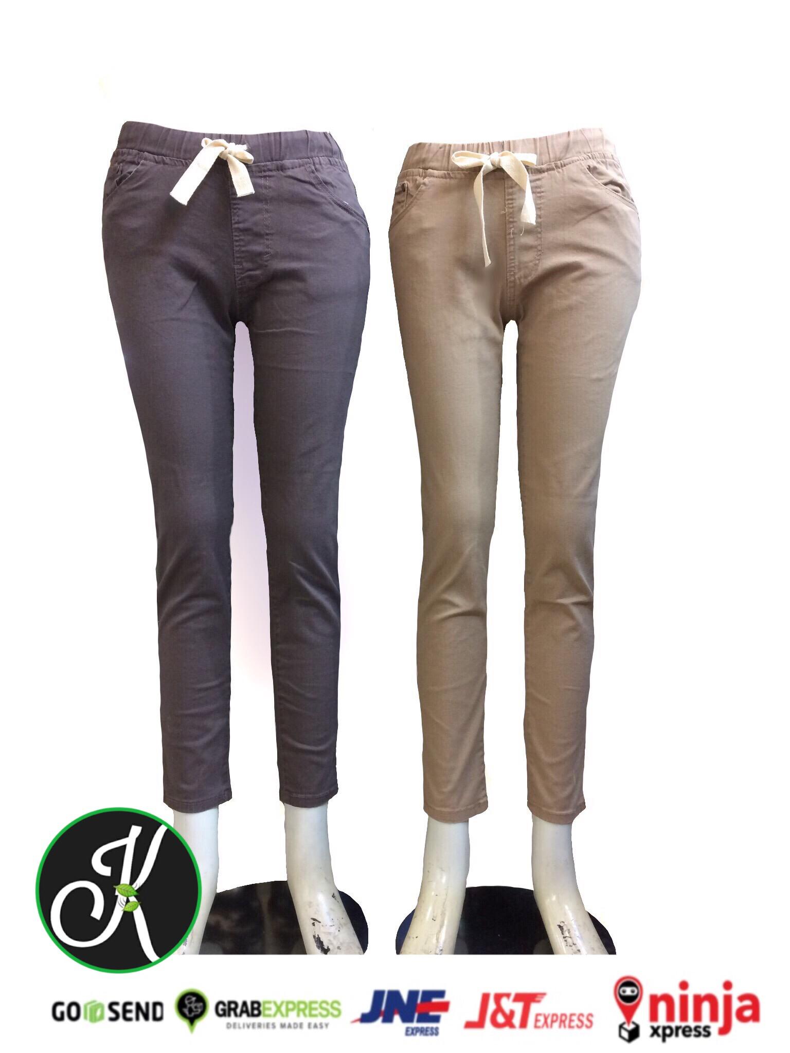 PENAWARAN Celana Legging wanita bahan cinos 49 223c2499f4