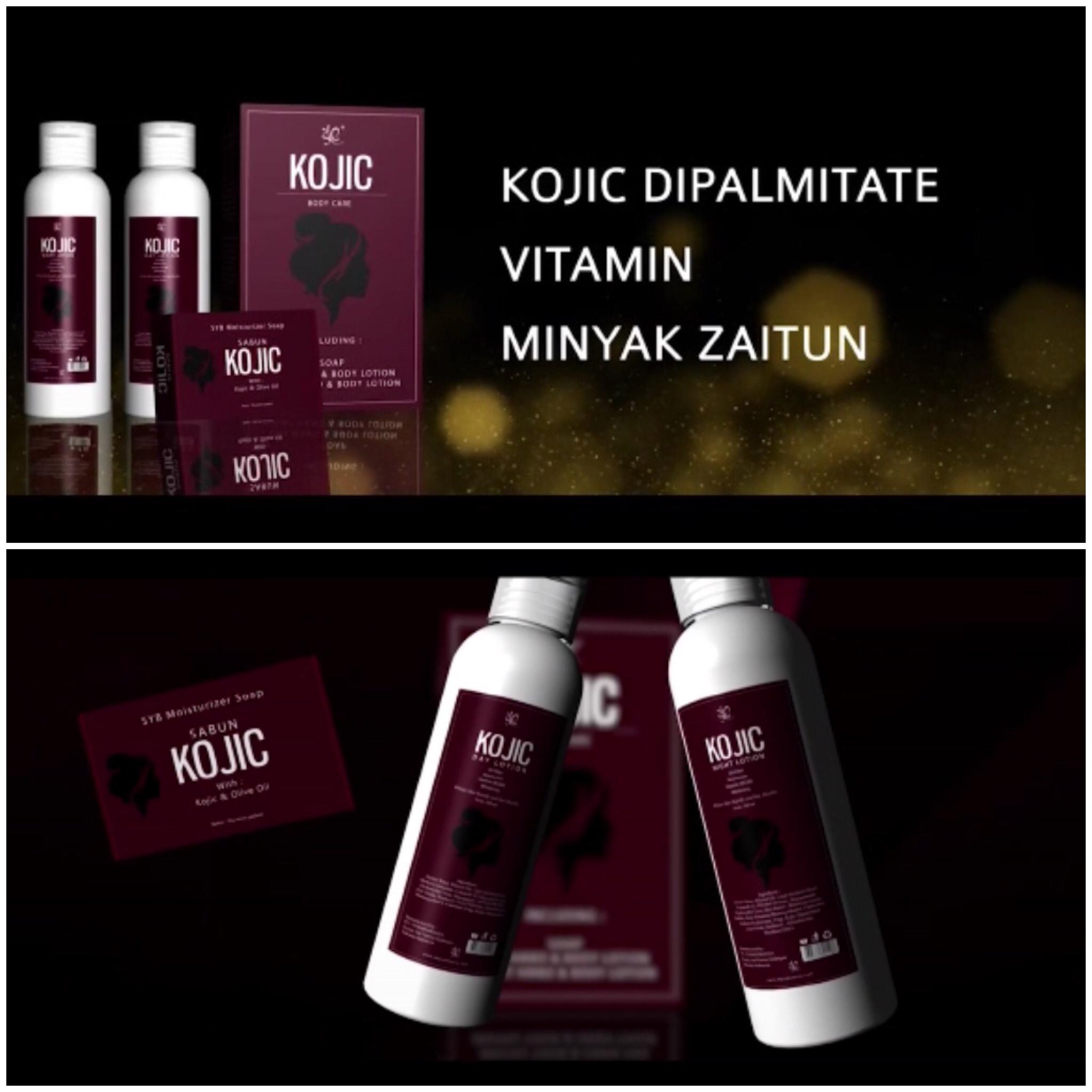 Bpom Paket Kojic 3 In 1 Body Care By Syb Pemutih Bulma Shop Kosmetik Hanasui 3in1 Lotion Original