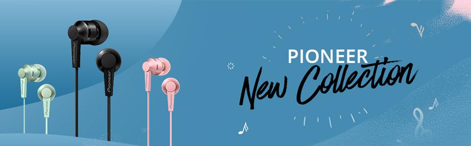Pioneer SE-C3T In Ear Earphone Exclusive TOKOPEDIA - Black