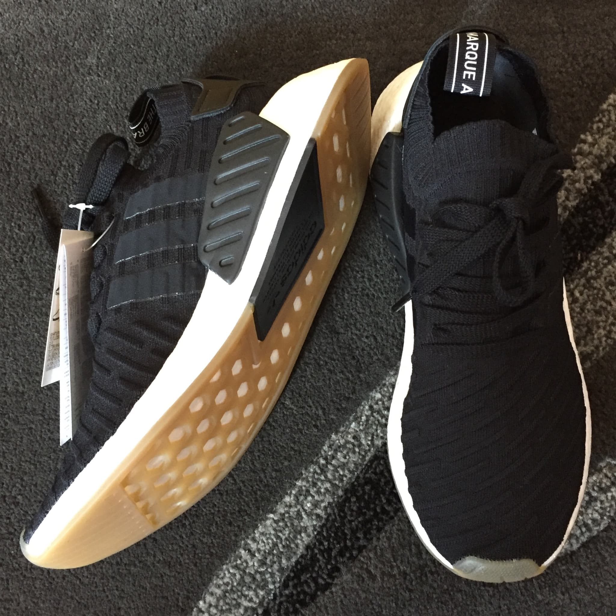 new styles 64d8c bf5d8 Jual Adidas NMD R2 PK Japan Pack Black Gum BY9696 ...
