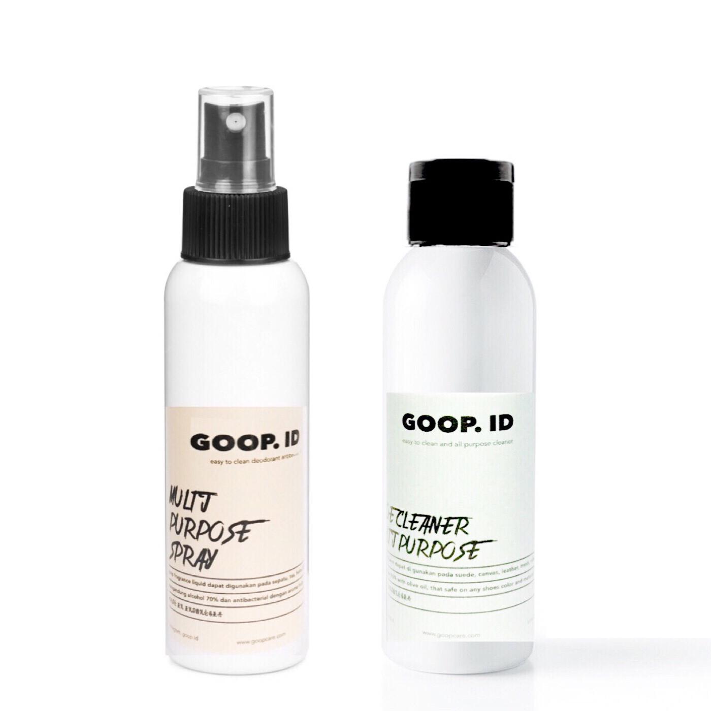 Jual GOOP SHOE CLEANER Paket 100ml - Pembersih sepatu - GOOP ID   Tokopedia