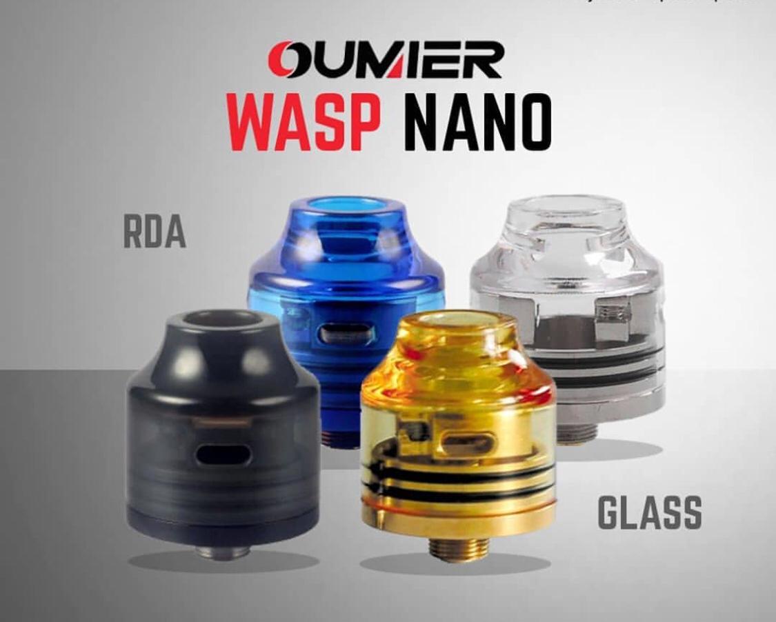 Jual Rda Wasp Nano Clear Authentic By Oumier Yakuza Shop 22mm Tokopedia