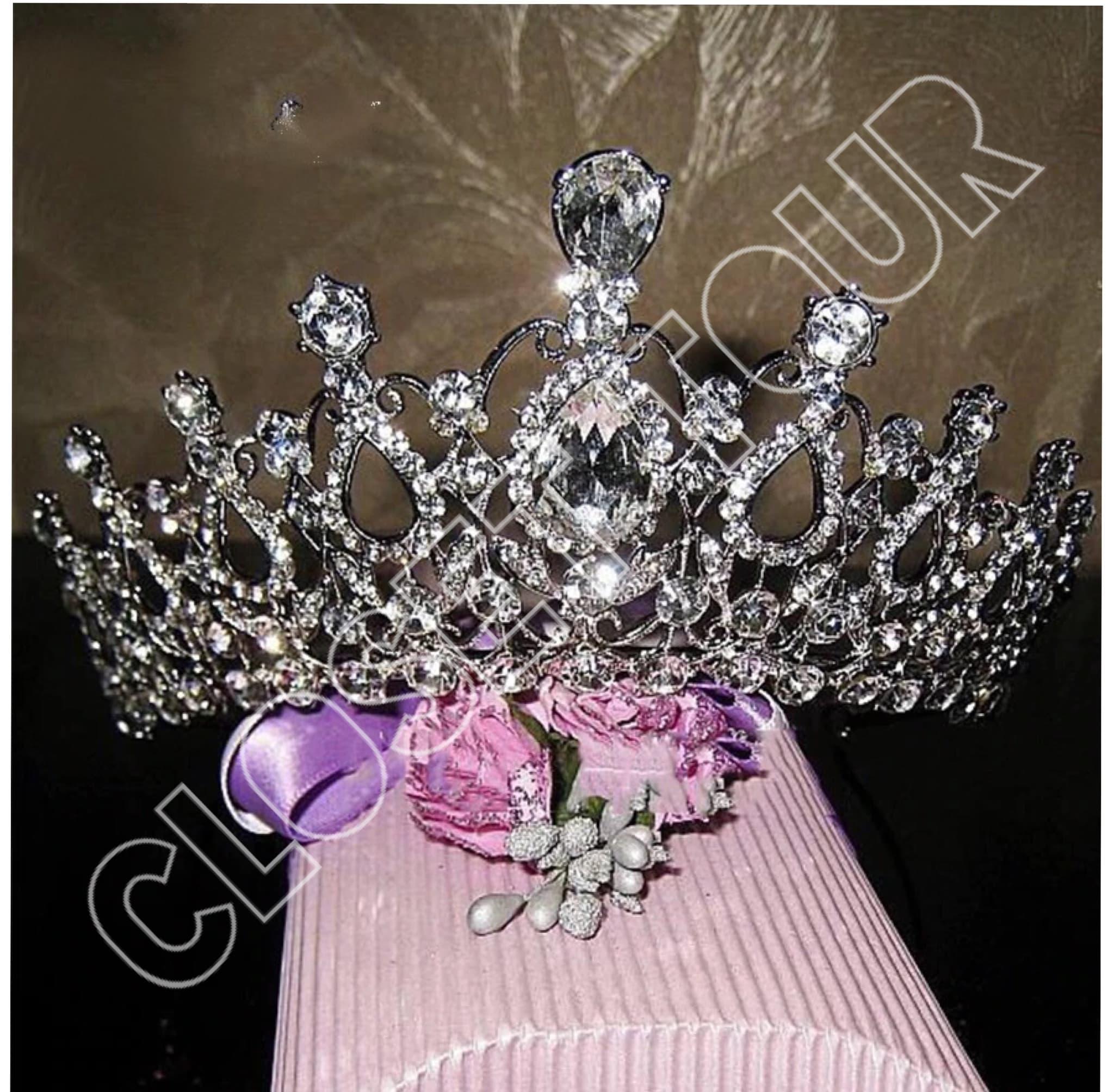 mahkota pernikahan tiara headband pengantin thumbnail