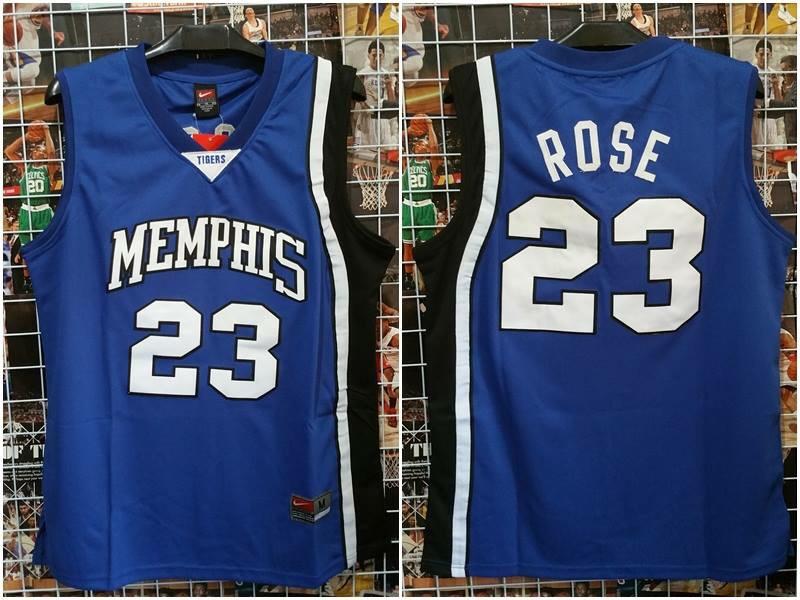 reputable site a8185 74a66 Jual Jersey Basket Swingman NCAA Memphis Derrick Rose ...