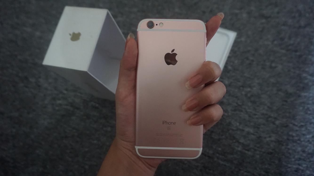 Jual IPHONE 6S ROSE GOLD 16 GB EX INTER APPLE SECOND ... f00c1daf18