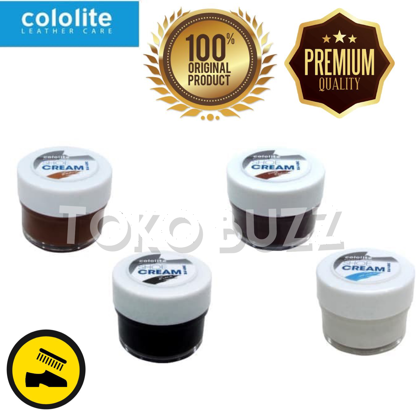 Cek Harga Cololite Liquid Shoe Polish 45 Cc Brown Bulan Ini. Source · 154731428988478_50f927e9-