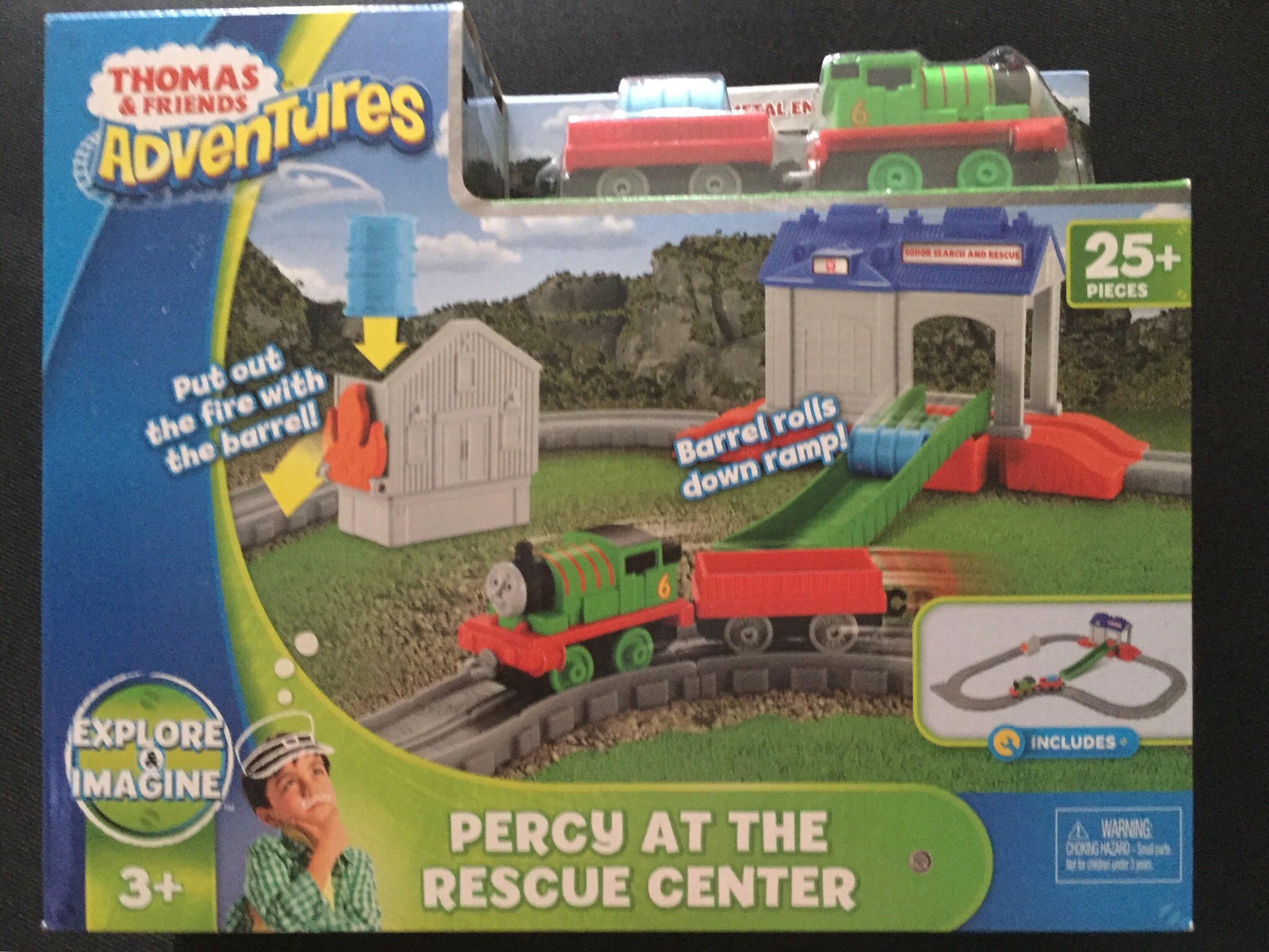"Jual Thomas & friends adventures ""percy at the rescue center"" - DKI Jakarta - gracie 