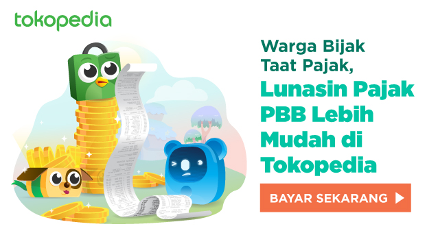 Pbb Kota Bandung Cek Bayar Tagihan 2021 Tokopedia