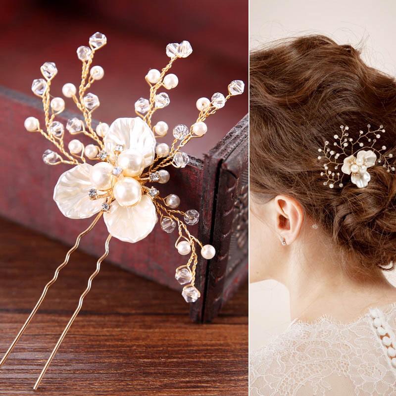 Hairpin Hair Pin Kelopak Bunga Jepit Aksesoris Hiasan Rambut Hairpiece thumbnail