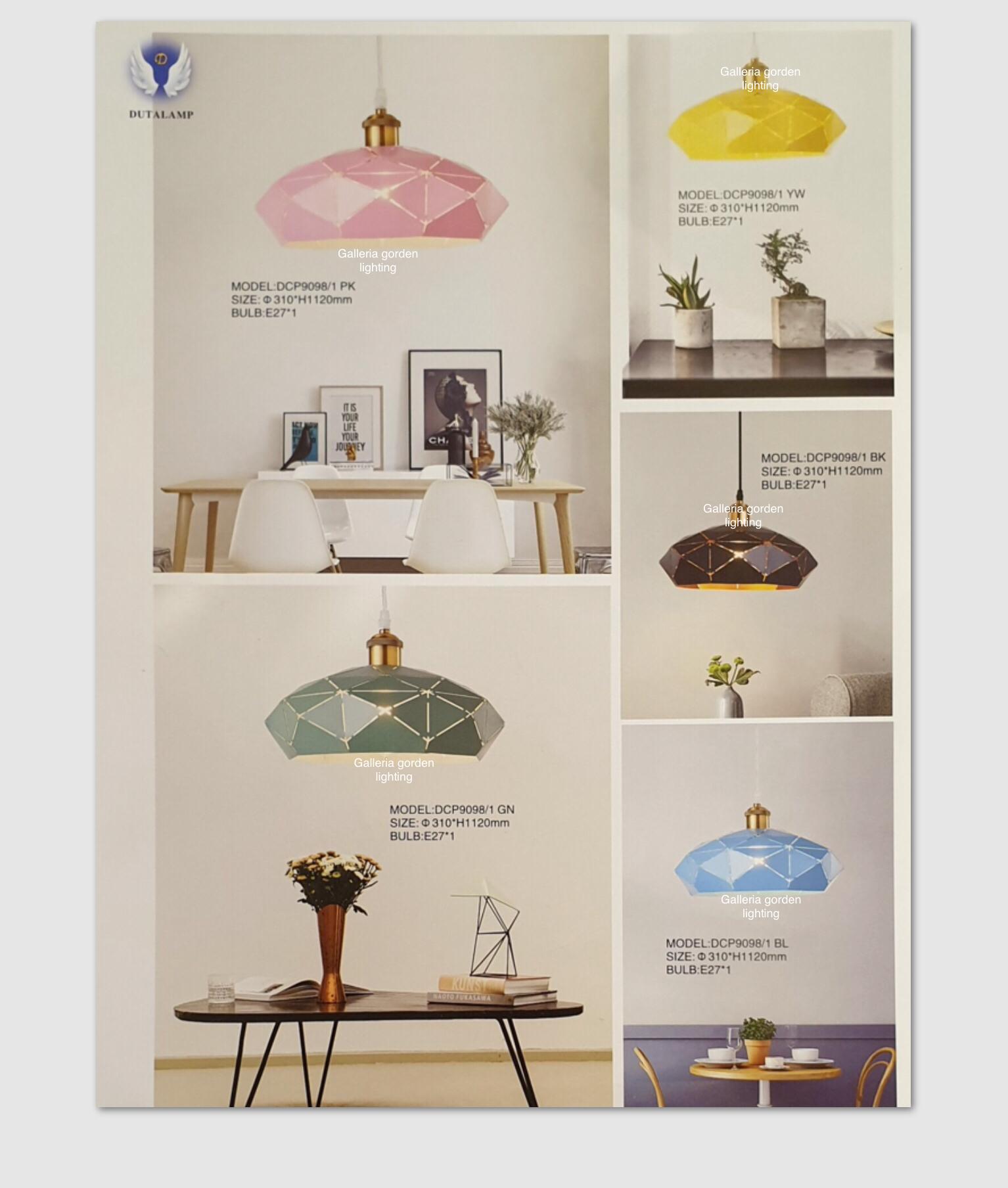 Jual Lampu Hias Gantung Minimalis Dekorasi Meja Makan 9098 1