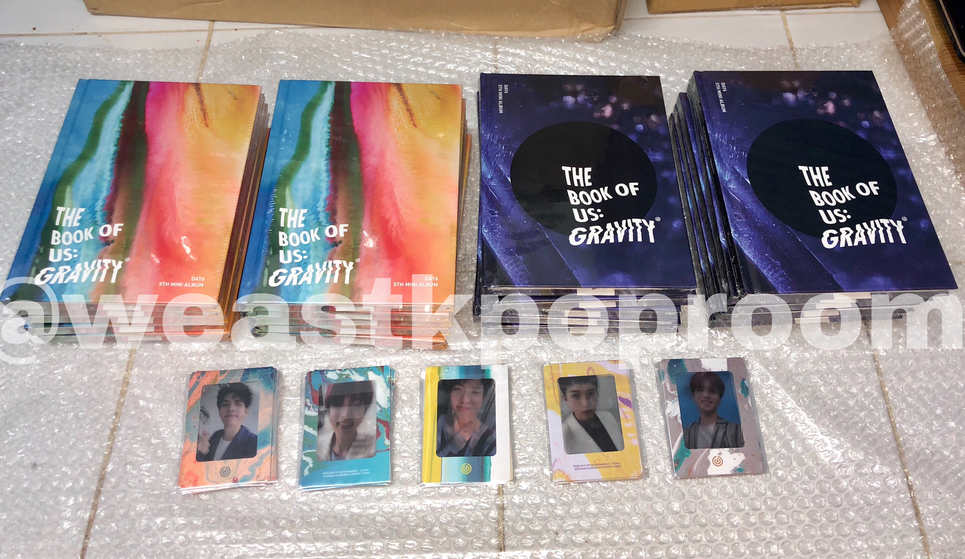 Jual DAY6 - THE BOOK OF US : GRAVITY + Poster - DKI Jakarta