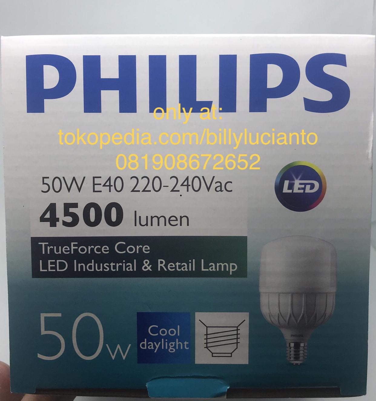 Nouvel Jual Lampu LED Bulb PHILIPS 50 W 50W E40 pengganti Bohlam JP-96