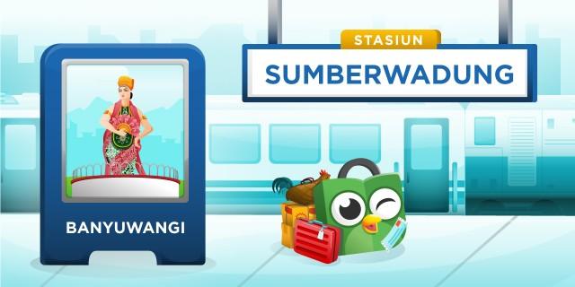 Stasiun Sumberwadung Banyuwang