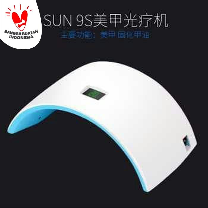 lampu Led UV pengering kutek kuku gel 24W-nail art dryer-manicure foto thumbnail