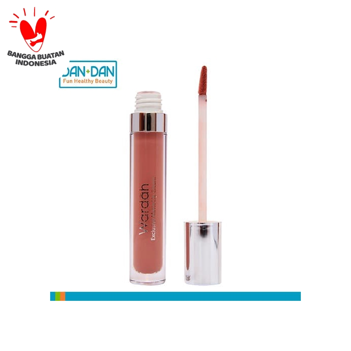 Wardah Exclusive Matte Lip Cream 03 See You Latte - 404015 thumbnail