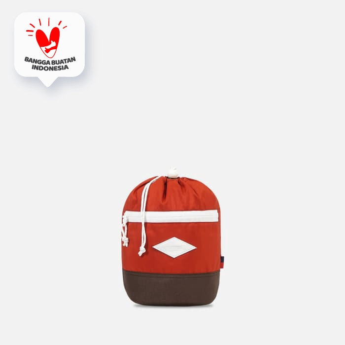 VISVAL - Pouch - Woopy - Brick Red thumbnail