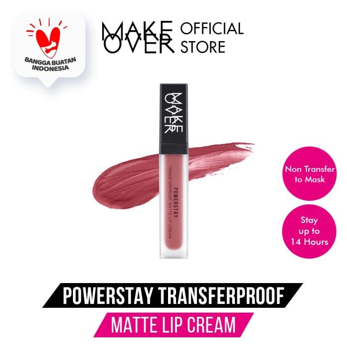 MAKE OVER Powerstay Transferproof Matte Lip Cream - B02 Lucky thumbnail