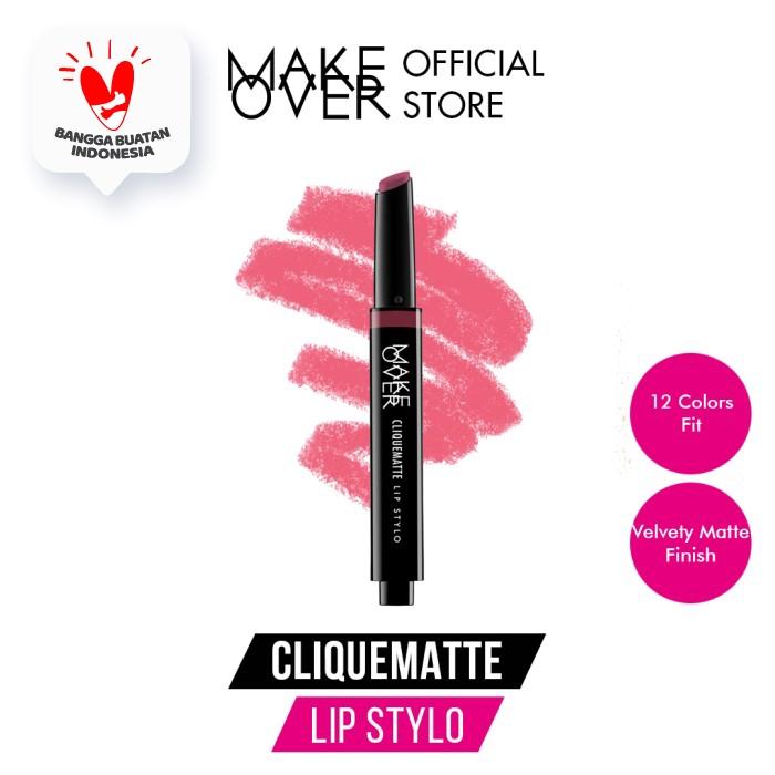 Make Over Cliquematte Lip Stylo - 204 Exp 6-12bln thumbnail