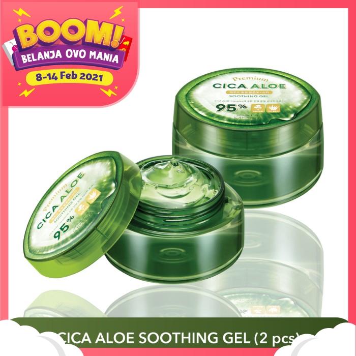 MISSHA Bundling Premium Cica Aloe Soothing Gel (2pcs) thumbnail