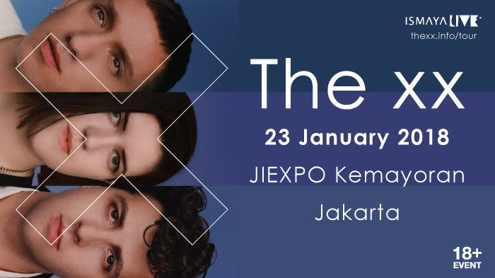 The xx  I See You Tour 2018 Jakarta