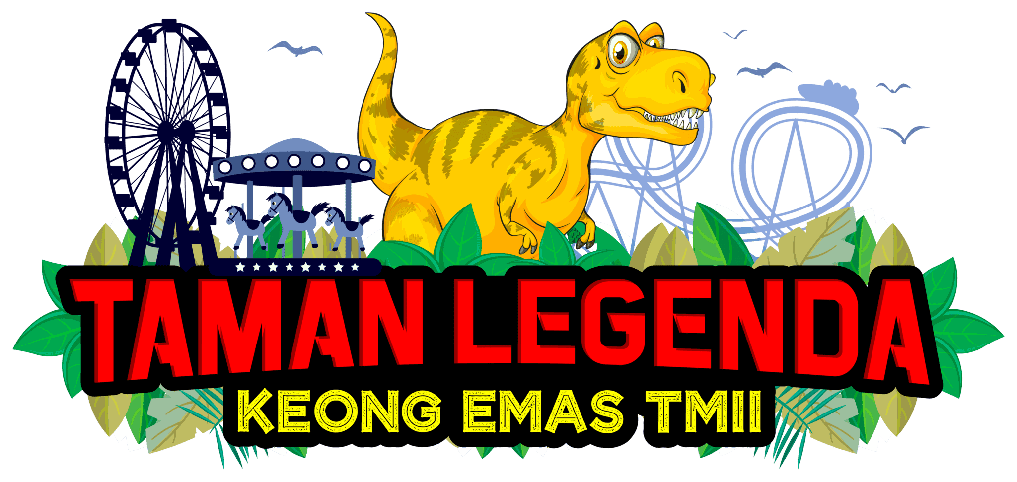 Taman Legenda Keong Emas TMII - Background