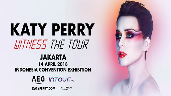Katy Perry WITNESS: The Tour 2018 Jakarta