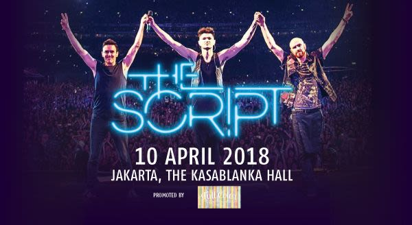 The Script ''Freedom Child Tour'' Live In Jakarta - Background