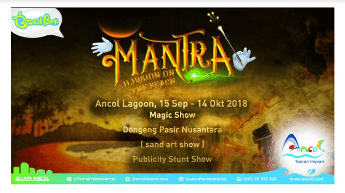 Ancol (Tiket Masuk Gerbang Utama) - Background