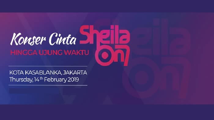 Konser Cinta Sheila on 7 Hingga Ujung Waktu - Background