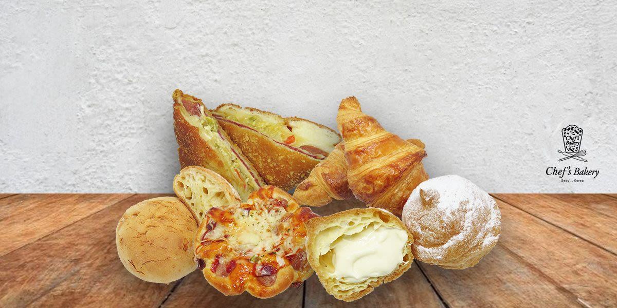 Voucher Chef's Bakery Rp 50.000