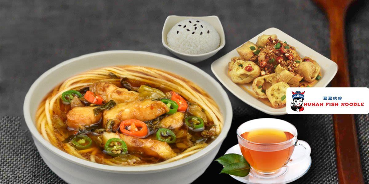 Voucher Hunan Fish Noodle Rp 50.000