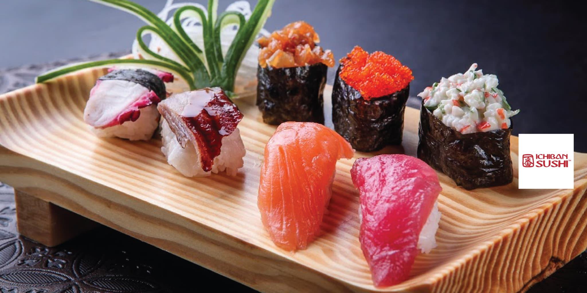 Voucher Ichiban Sushi Rp 100.000