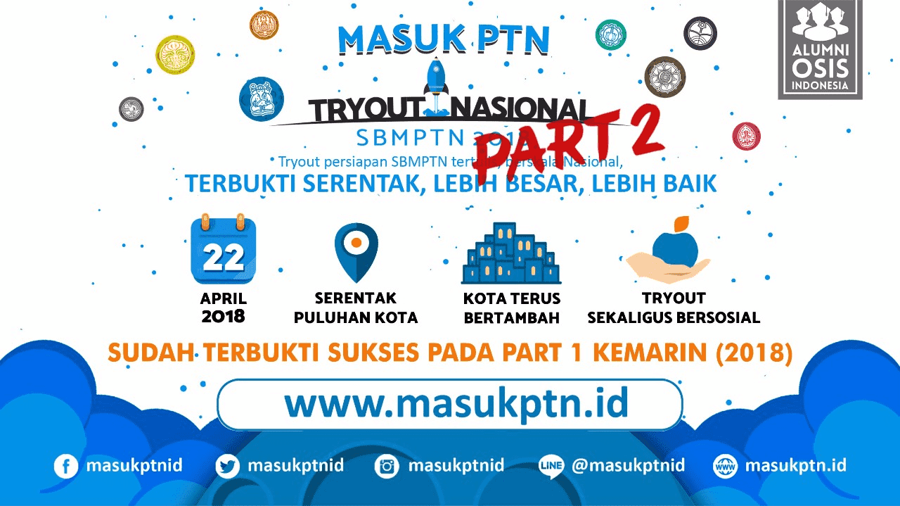 Masuk PTN 2018 Part 2 - Background