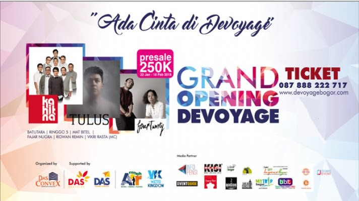 Grand Opening Devoyage Bogor - Background