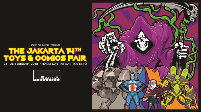 Toys and Comics Fair 2018 - Background