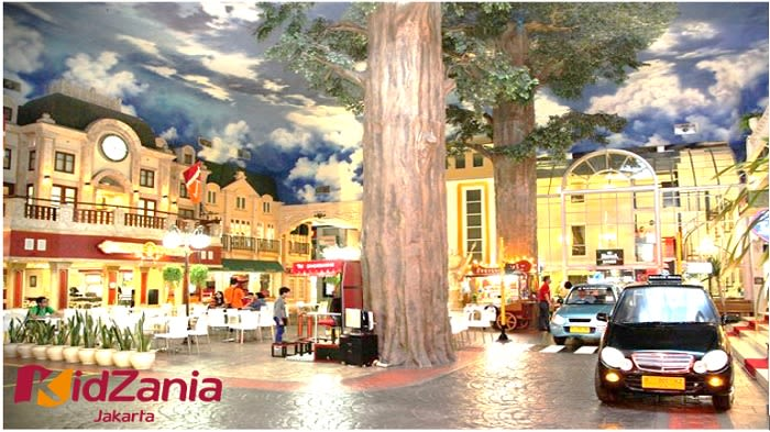 Kidzania - Background