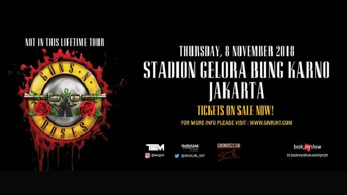 Guns N' Roses: Not In This Lifetime Tour  - Background
