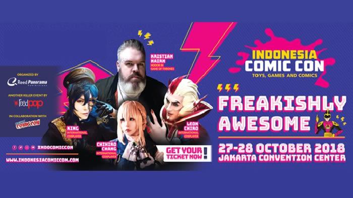 Indonesia Comic Con  - Background
