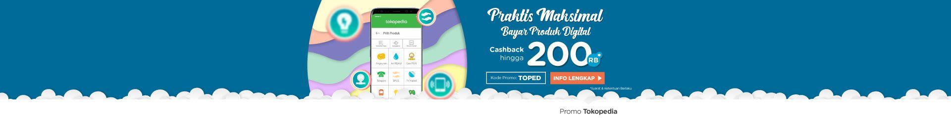 Nikmati Praktisnya Bayar Produk Digital, Cashback s.d. 200rb