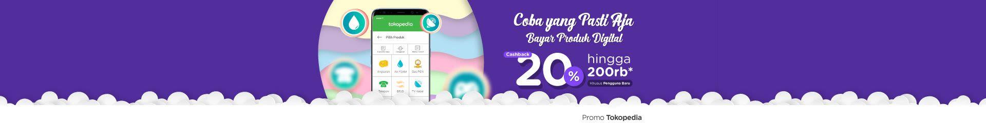 Bayar Produk Digitalmu Pertama Kali, Cashback hingga 200rb!