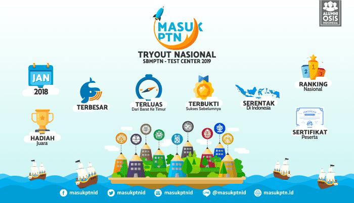 MasukPTN-Tryout Nasional 2019 - Background