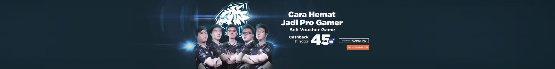 Beli Voucher Game, Cashback hingga Rp45.000!