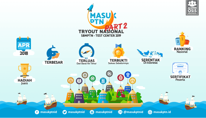 Part II MasukPTN-Tryout Nasional 2019