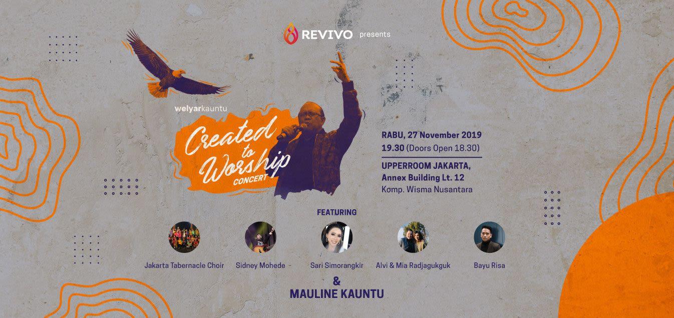 Created to Worship Concert - Welyar Kauntu - Background