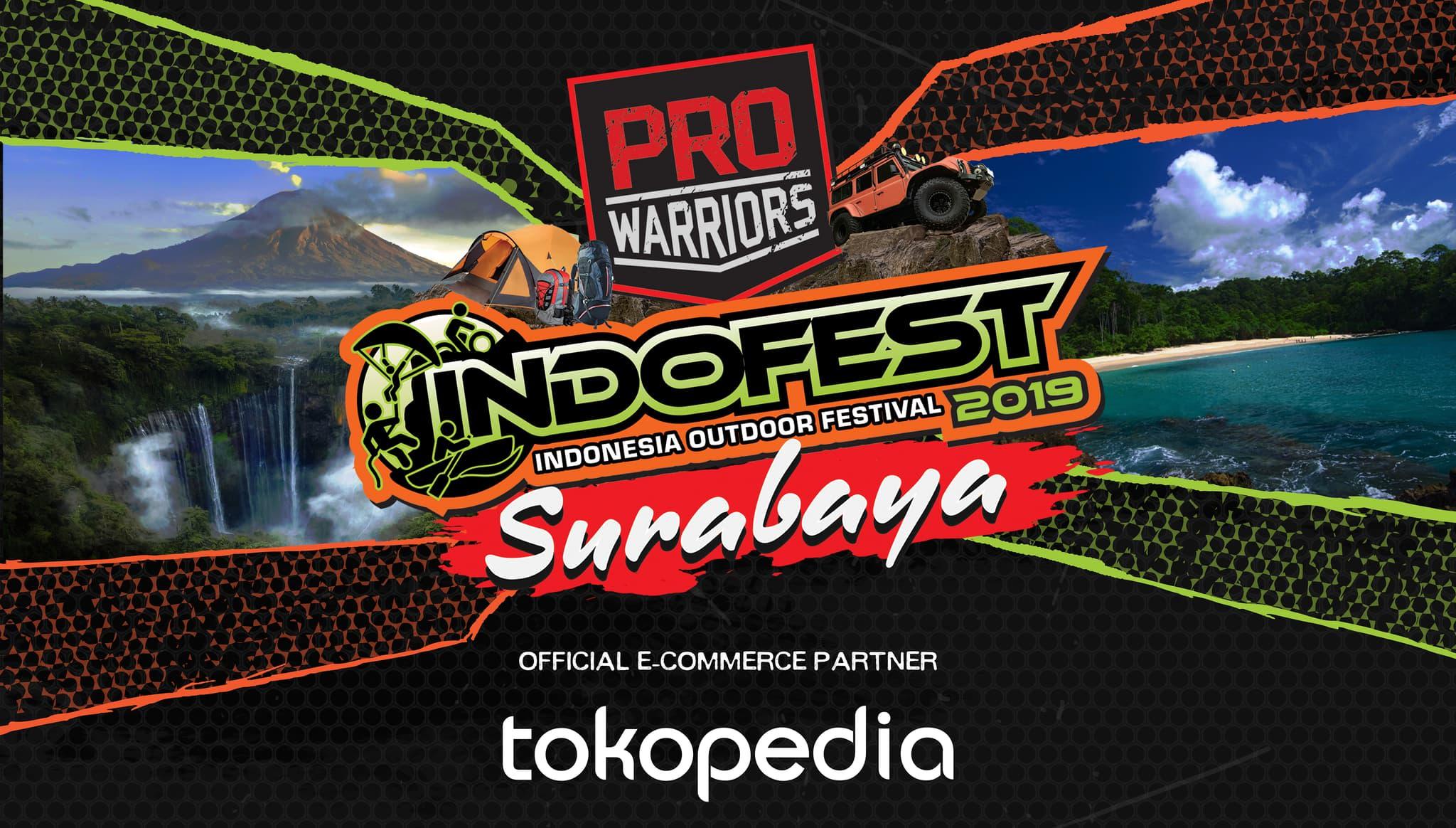 INDOFEST Surabaya 2019 - Background