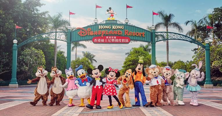 Hong Kong Disneyland Ticket - Background