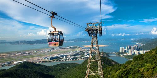 Ngong Ping 360 Cable Car (One Way/Round Trip) - Background