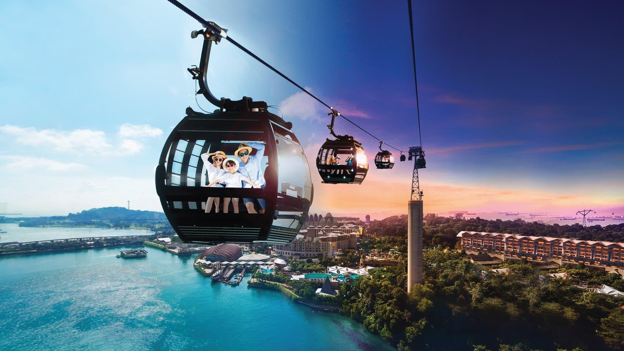 Singapore Cable Car Sky Pass - Background